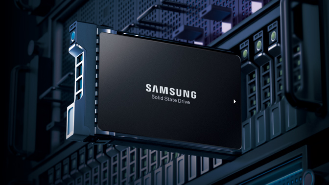 Samsung SSD data center