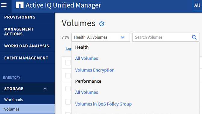 NetApp Active IQ Unified Manager 9.9
